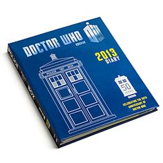 This planner is a unique item created to celebrate the anniversary of the TV show Doctor Who. Open up your TARDIS and start marking your dates. Each spread shows a full week and includes images from Doctor Who from the through