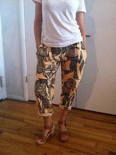 African Print Pants, $20