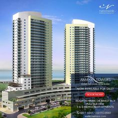 Live or #Invest in a prime piece of #property now.  Own your apartment in Amaya Towers - Al Reem Island!  3 BR APT from 2.65M/1924 sq.ft  4 BR APT for 3.75M with #panoramicviews.  #Mortgage #finance available.  Book a Viewing Now!  050-9138969 I 800 1 4444 | info@nwmea.com  #realestate #realtors #realestateinvesting #investors #investment #properties #Nationwide_AD #inabudhabi #instaAbuDhabi #followme #AbuDhabi #propertyinvestment #realestateagent #simplyabudhabi #instaAbuDhabi #boss_homes…