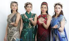 On the second day of Toy Con 2016 (June Saturday), the cast members of 'Encantadia' officially made their first appearance in full costume! Look at their jaw-dropping photos in this exclusive gallery. Encantadia 2016 Costume, Encantadia Costume, Costumes, Bridesmaid Dresses, Prom Dresses, Formal Dresses, Wedding Dresses, Kylie Padilla, Gabbi Garcia