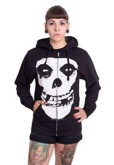 a82e51ccf Misfits - Red Logo Skull - T-Shirt | Lookin' good/snygga kläder ...