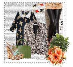 """""""Women Leopard Suit"""" by fashionsara1987 on Polyvore"""