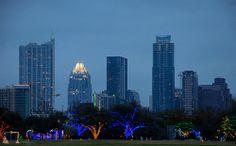 Zilker trail of lights: Austin,Texas