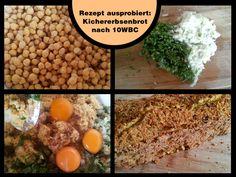 Rezept nach 10WBC – Kichererbsenbrot