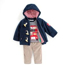 Pay homage to British style with our London inspired design. Toddler Boy Outfits, Toddler Boys, Stylish Maternity, British Style, Canada Goose Jackets, Zip Ups, Outfit Ideas, Winter Jackets, London