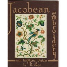 jacobean patterns | FREE JACOBEAN EMBROIDERY DESIGNS | Embroidery for Beginners