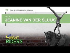 Jeanine van der Sluijs talks everything equestrian vaulting and the thrill of competing at the World Equestrian Games for the Canadian teams! | Ep. 27, Late Night Riders: An Equestrian Lifestyle Podcast - YouTube #latenightriders #equestrian #podcast #horsepodcast #LNR #horses #vaulting #worldequestriangames #canada #olympics #weg