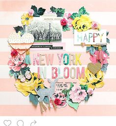 New York in bloom.