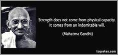 #MahatmaGandhi #strength #physical #empowerment #Philadelphia #CommAngels #CAF #USA #GM