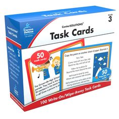 CENTER SOLUTIONS TASK CARDS GR 3