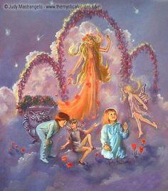 The Fairies Go Winging