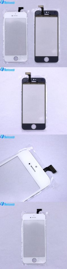 Netcosy For iphone5 Touch Screen Digitizer Replacement Outer Touch Panel Front Glass Lens For iPhone 5 5G Touchscreen