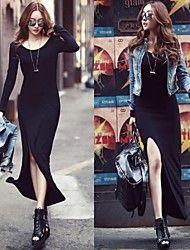 שמלה - מקסי - תערובות כותנה - קז'ואל/סקסי/מקסי – ILS ₪ 78.44