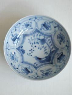 花鳥文5.5寸鉢/清水なお子作 うつわ ももふく -作家もの和食器の店- Onlineshop