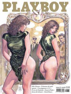 Playboy Italia by Milo Manara