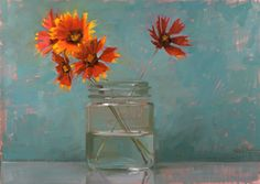 Pinturas de: Carol Marine, del blog Carol Marine's Painting a Day