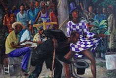 Rare Gerard Saint-Rome Ghede Spirit Important Haitian Painting Haitian Art, Medieval Art, Art Museum, Art History, 1930s, Rome, Saints, Art Gallery, Culture