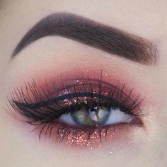 Eye Makeup Tips.Smokey Eye Makeup Tips - For a Catchy and Impressive Look Gorgeous Makeup, Pretty Makeup, Love Makeup, Makeup Inspo, Makeup Inspiration, Makeup Ideas, Simple Makeup, Kiss Makeup, Glam Makeup