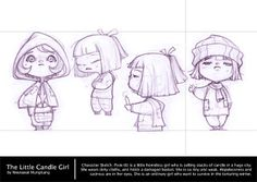 Weerawat Mungkung's Safe House: Initial Pixie Sketches