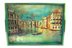 "Large tray ""Venice"", $20"