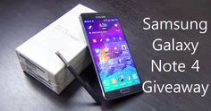 [Giveaway] Samsung Galaxy Note 4 Giveaway Contest