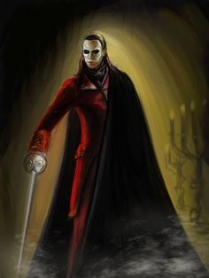 the phantom... in my mind by naly202 on DeviantArt