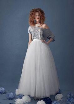 Maxi tutu tulle skirt maxi petticoat ecru tutu by Fanfaronada