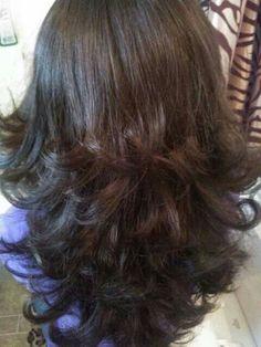 Cortes de cabello en capas largas (8) - Curso de Organizacion del ... fd22558078db