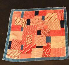 VERA-1960s Silk Print Scarf