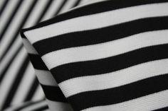 Sandwich Stripe Ponti - Ponti - Tessuti Fabrics - Online Fabric Store - Cotton, Linen, Silk, Bridal & more