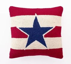 AMERICAN pillow - finally a cute USA flag pillow, instead of the british flag.