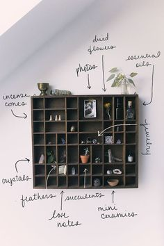 Home Décor Inspiration: Vintage Display Shelf | Free People Blog #freepeople