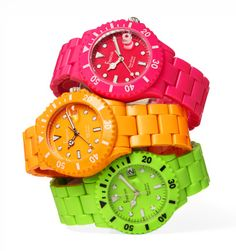 Freelook watches - festive colors