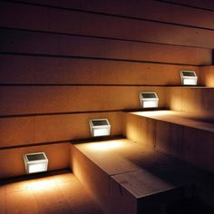 Led Step Lighting Endearing Led Step Extrusion Stair Lighting  Papa Stantz  Pinterest  Stair Design Ideas