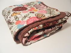 Tutorial - sewing on minky fabric
