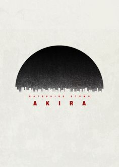 Akira (1988)   Minimal graphic incorporates the overall aesthetic of the film. includes directors name and the font utilises the space of the poster. Probably better received by fans of the film and works retrospectively for people who know the film. People interested in the style of cinema or would know a little would want to know more as the space around the image and the air in between the font promotes the image within. Background is textured, to add depth a minimal image.