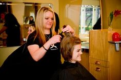 New Moon Salon at the 1886 Crescent Hotel in Eureka Springs AR. They KNOW hair!