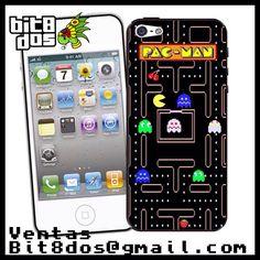 Case Pacman de atari  #pixelart Te elaboramos cualquier diseño de videojuegos. Más información en bit8dos@gmail.com