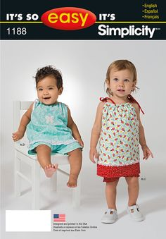 **HAVE**  Simplicity Creative Group - It's So Easy Baby Pieces