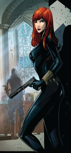 Black Widow by Peter Nguyen