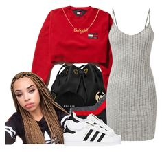 """untitled #80"" by yani122 ❤ liked on Polyvore featuring MICHAEL Michael Kors, Hanky Panky and adidas Originals"