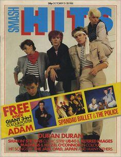Smash Hits 81 - Duran Duran.