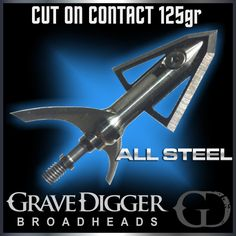 No Limit Archery Grave Digger Cut On Contact 125gr Broadhead