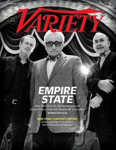 Steve Buscemi, Martin Scorsese and Terence Winter photographed on the set of Boardwalk Empire in Brooklyn for Variety. Thanks to Bailey Franklin and everybody who made it happen! Terence Winter, Nucky Thompson, Variety Magazine, Tapas, Steve Buscemi, Boardwalk Empire, Martin Scorsese, New Face, Strike A Pose