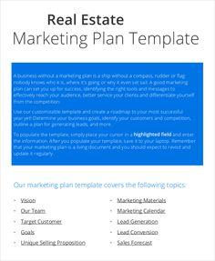 Marketing Plan Template/ marketing Plan Sample