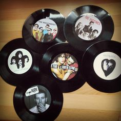 Vinyl Record Table Names Numbers Rock n Roll Wedding Music Festival Rockabilly