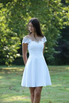 Gala Dresses, Nice Dresses, Wedding Dresses, Teen Skirts, Confirmation Dresses, Cute White Dress, Occasion Dresses, Sexy Outfits, Dress Skirt
