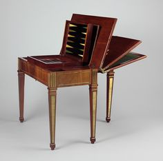 Understanding Neoclassicism (Mechanical Game Table featured)