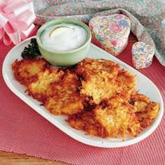 Potato Apple Pancakes Recipe -This was my grandpa's favorite recipe to make on St. Patrick's Day morning - I can smell the aroma of cooking pancakes just talking about them! We often used the leftovers to make meat or cheese roll-ups. As you can imagine, we always urged Grandpa to make plenty of these!