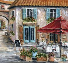 Tuscan Trattoria Painting